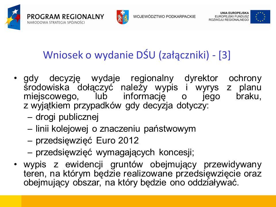 Wniosek o wydanie DŚU (załączniki) - [3]
